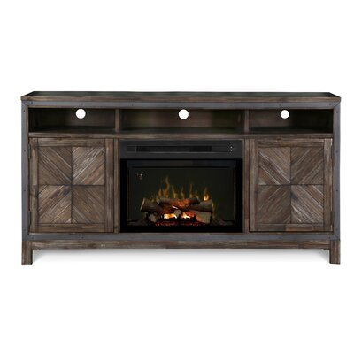 Wyatt TV Stand with Electric Fireplace Insert Style: Realogs