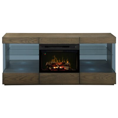 Axel 73 TV Stand with Fireplace
