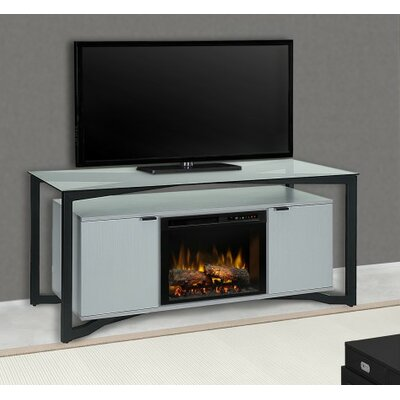 Christian 70 TV Stand with Fireplace Firebox Type: Realogs (XHD)