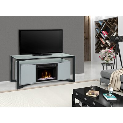 Christian 70 TV Stand with Fireplace Firebox Type: Acrylic Ice