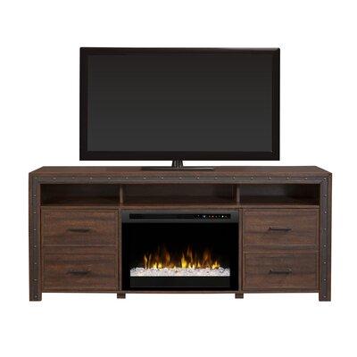 Firebox 66 TV Stand with Fireplace Firebox Type: Acrylic Ice (XHD)
