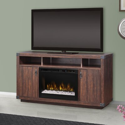 Firebox 59.375 TV Stand with Fireplace Firebox Type: Acrylic Ice (XHD)