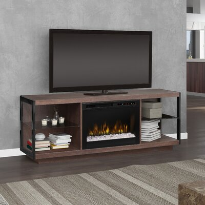66.875 TV Stand with Fireplace Firebox Type: Acrylic Ice (XHD)