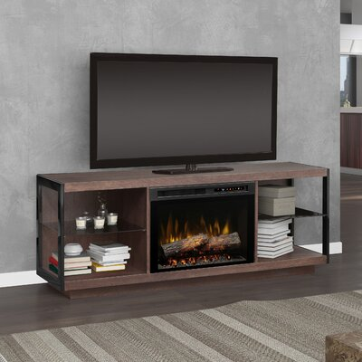 66.875 TV Stand with Fireplace Firebox Type: Realogs (XHD)