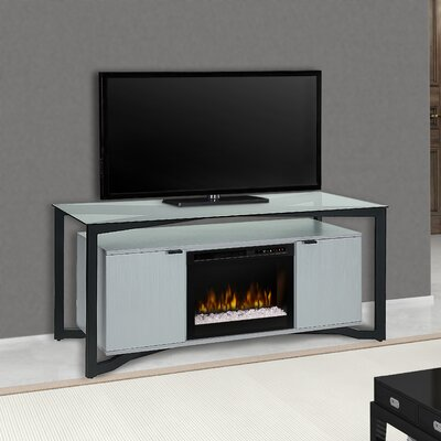 Christian 70 TV Stand with Fireplace Firebox Type: Acrylic Ice (XHD)