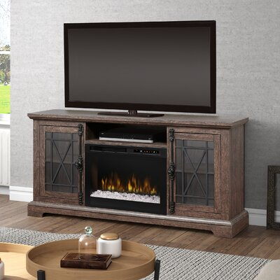 TV Stand with Fireplace Firebox Type: Acrylic Ice (XHD)