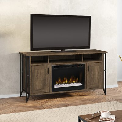 Firebox 64 TV Stand with Fireplace Firebox Type: Acrylic Ice (XHD)