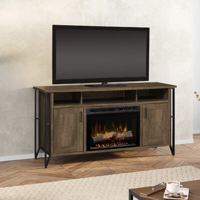 Firebox 64 TV Stand with Fireplace Firebox Type: Realogs (XHD)