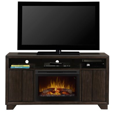 Bayne 60 TV Stand with Electric Fireplace