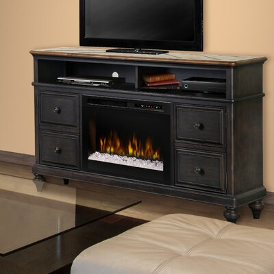 Hazel 60 TV Stand with Electric Fireplace