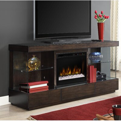 Camilla 70 TV Stand with Electric Fireplace