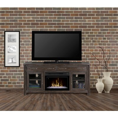 Woolbrook 68 TV Stand with Fireplace Insert Style: Acrylic Ice