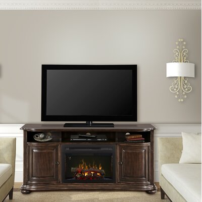 Henderson 66 TV Stand with Fireplace Firebox: Realogs