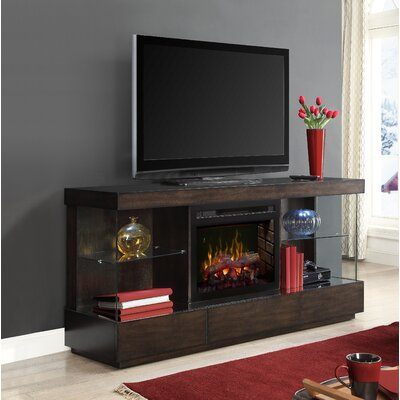 Camilla 72 TV Stand with Fireplace Insert Style: Realogs