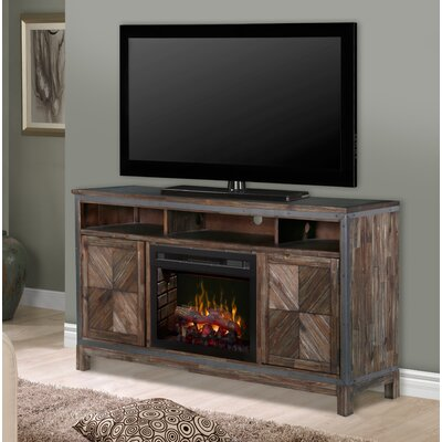 Wyatt 64 TV Stand with Fireplace Insert Style: Realogs