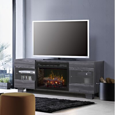 Max TV Stand with Fireplace Insert Style: Realogs