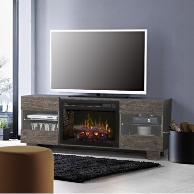 Max 62 TV Stand with Fireplace Insert Style: Realogs