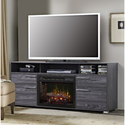 Sander 66 TV Stand with Fireplace Insert Style: Realogs
