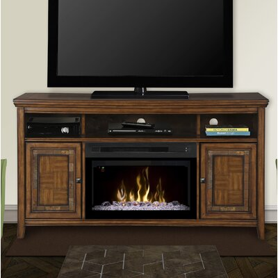 Lynbrook 60 TV Stand with Fireplace Insert Style: Acrylic Ice