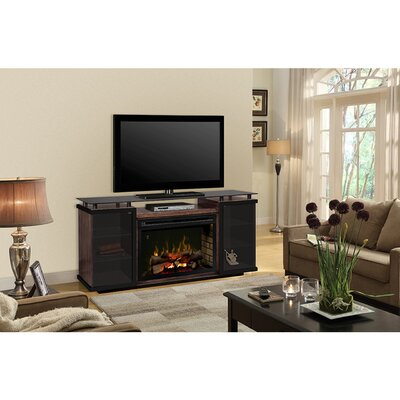 Aiden 72 TV Stand with Fireplace Firebox: Realogs