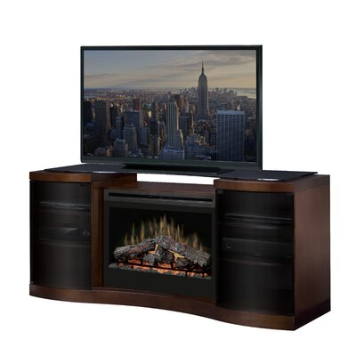 Acton TV Stand with Electric Fireplace