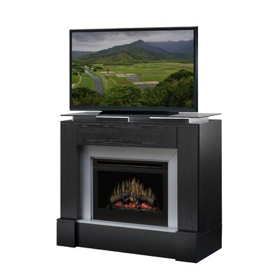 "Dimplex Jasper 48"" TV Stand with Electric Fireplace at Sears.com"