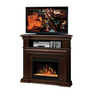 "Dimplex Montgomery 47"" TV Stand with Electric Ember Bed Fireplace at Sears.com"