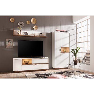 Aryana Wall Unit Combo 2 62 Entertainment Center