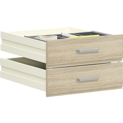 Walton Bay 17.32 W x 20.9 D Desk Drawer Color: Oak