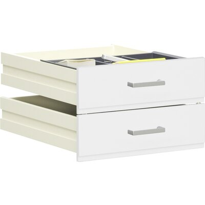 Walton Bay 17.32 W x 20.9 D Desk Drawer Finish: White