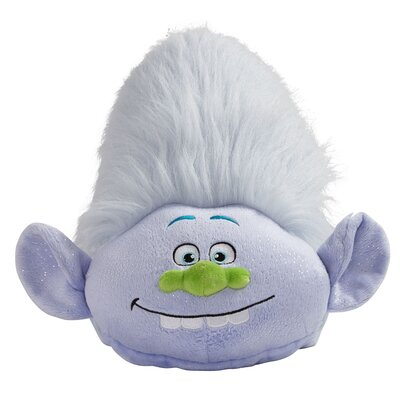 DreamWorks Trolls Guy Plush Chenille Throw Pillow