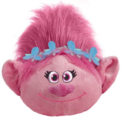DreamWorks Trolls Poppy Plush Chenille Throw Pillow