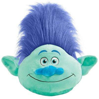 DreamWorks Trolls Branch Plush Chenille Throw Pillow