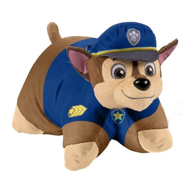 Nickelodeon Paw Patrol Chase Plush Chenille Throw Pillow