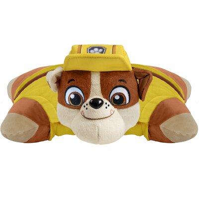 Nickelodeon Paw Patrol Rubble Throw Pillow