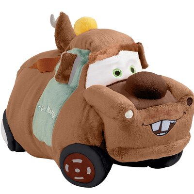 Disney Cars Tow Mater Plush Chenille Throw Pillow