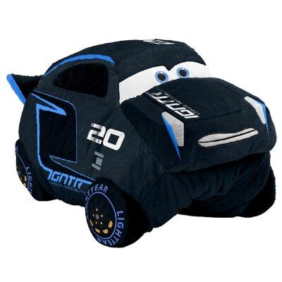 Disney Cars Jackson Storm Plush Chenille Throw Pillow