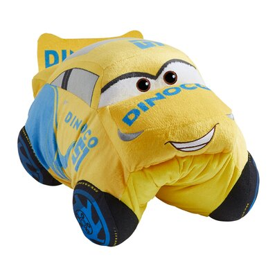 Disney Cars Cruz Ramirez Plush Chenille Throw Pillow