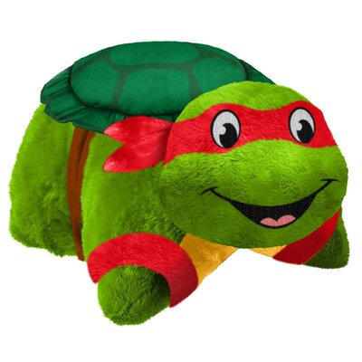 TMNT Raphael Plush Chenille Throw Pillow