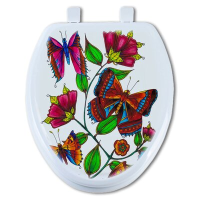 Butterfly 1 Elongated Toilet Seat
