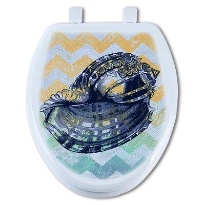 Shell Round Toilet Seat