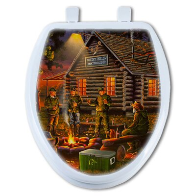 Campfire Tales Elongated Toilet Seat