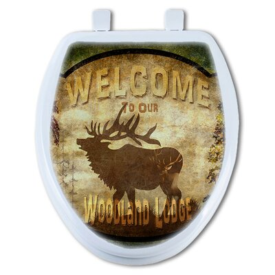 Welcome to Woodland Lodge Elk Round Toilet Seat