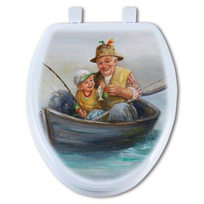 Grandpas Favorite Elongated Toilet Seat