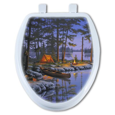 Honey Hole Round Toilet Seat