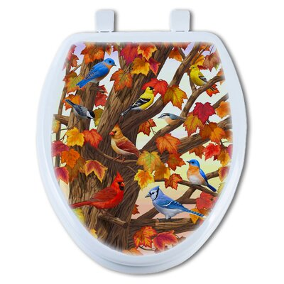Maple Tree Marvel Elongated Toilet Seat