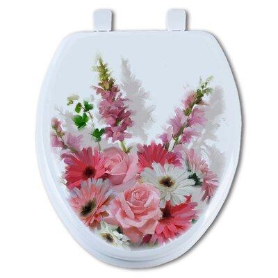 Flowers Round Toilet Seat