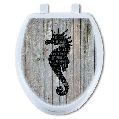 Sea Horse Round Toilet Seat