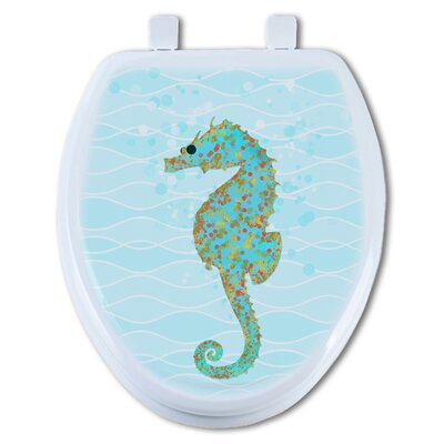 Sea Horse Henry Elongated Toilet Seat