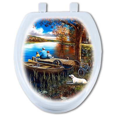 Treasured Moments Elongated Toilet Seat